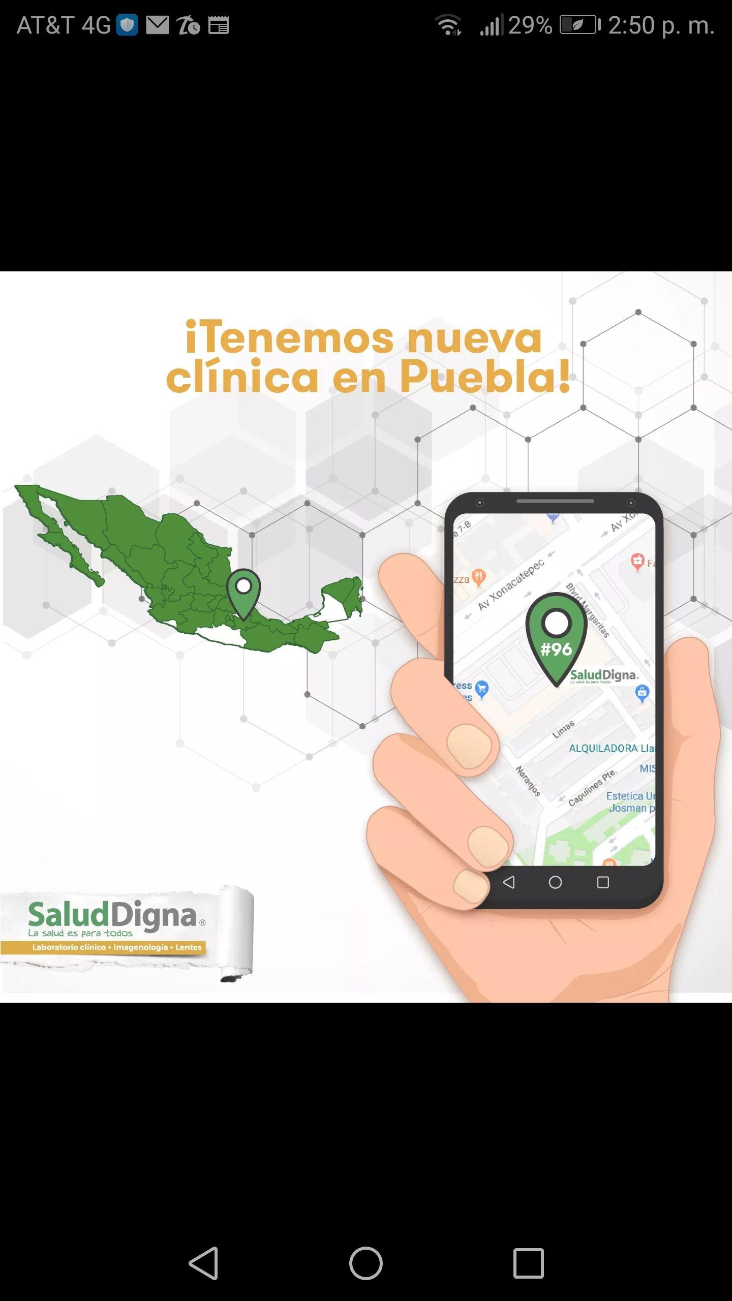 Salud Digna Puebla Clínica San Sebastián: Estudios gratis