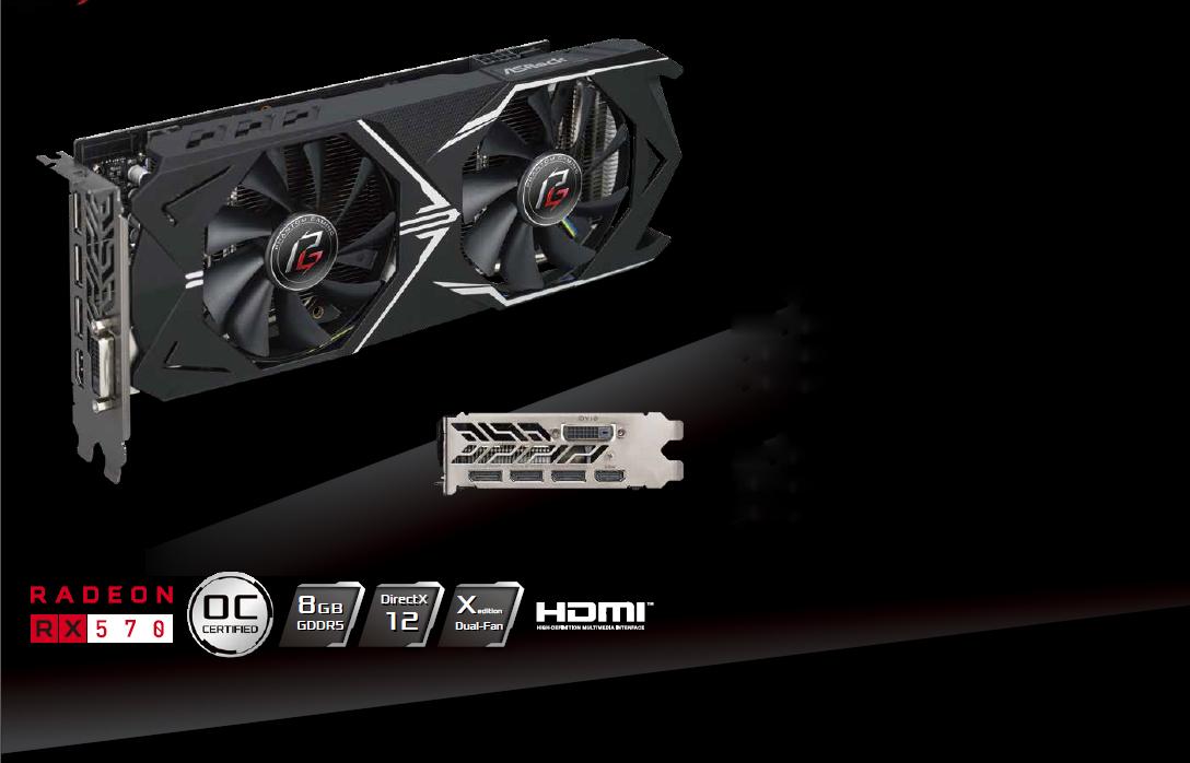 Newegg: ASRock RX 570 8GB (Impuestos incluídos)