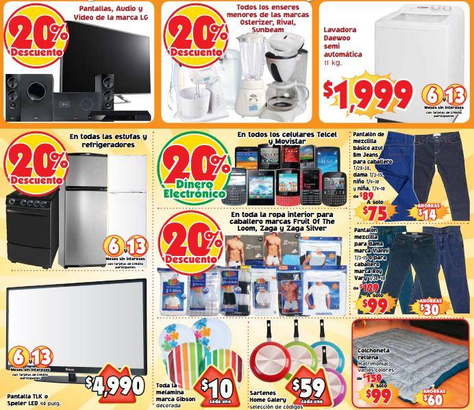 Mercado Soriana: 2x1 y medio en cerveza Corona, 20% de descuento en pantallas LG y más