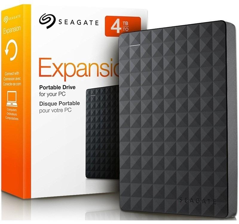 "PC Gaming: DD EXTERNO SEAGATE EXPANSION PORTATIL 4TB 2.5"""