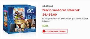 Sanborns Online: Play Station 3 + 4 juegos