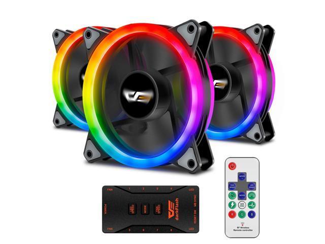 newegg: 3 Ventiladores RGB compatibles con AuraSync