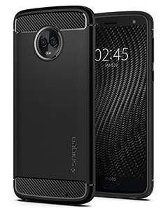 Amazon: Spigen Funda Moto G6 Plus, Rugged Armor
