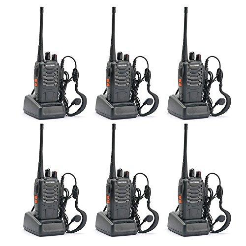 Amazon MX: Paquete de 6 radios BaoFeng BF-888S de 2 vías
