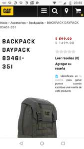 Caterpillar: Backpack Daypack