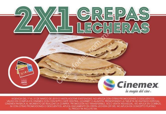 Promociones Cinemex Marzo 2019 con tarjeta Invitado Especial Payback