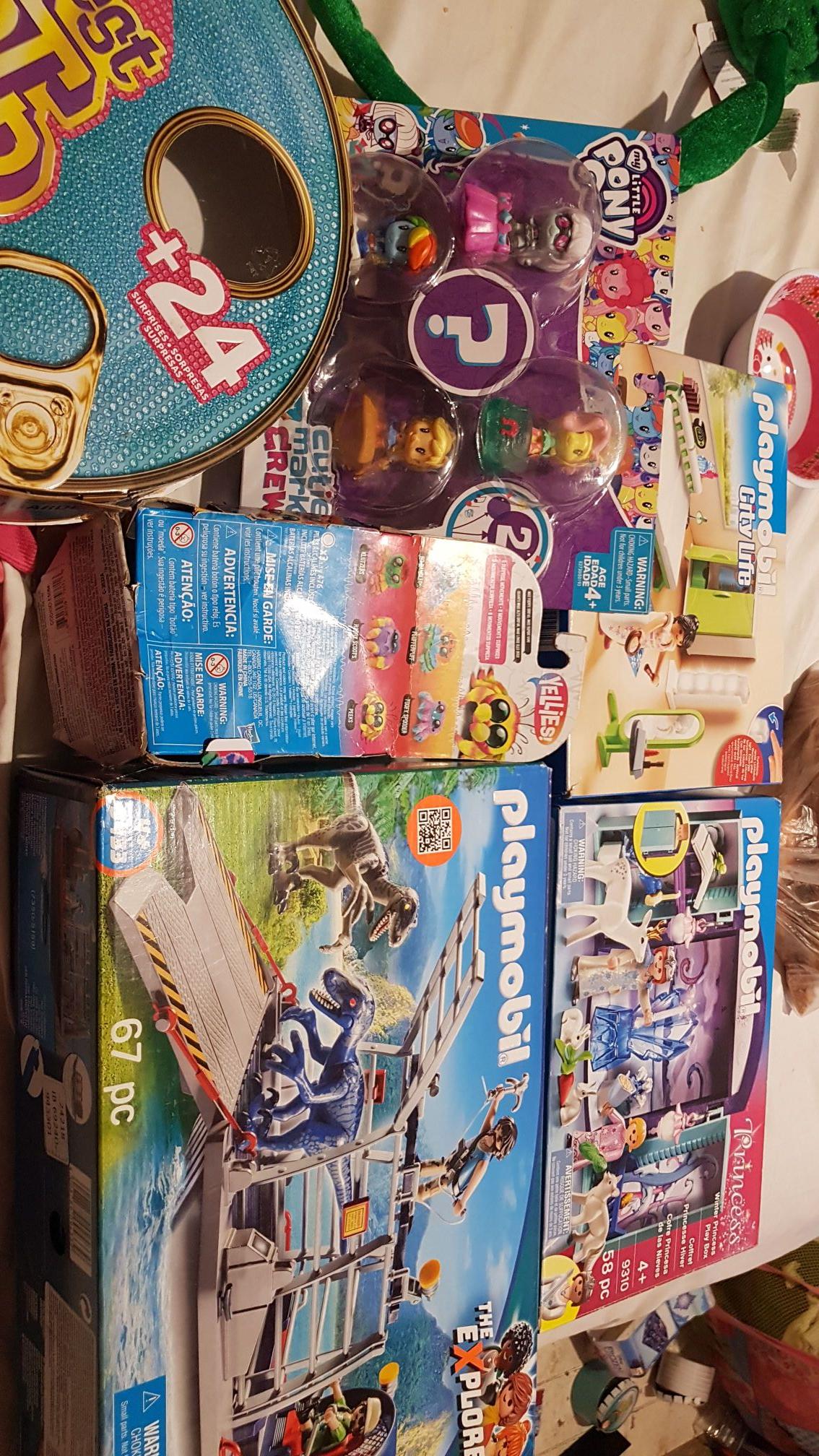 Bodega Aurrera Santa Rosa: Playmobil princess, playmobil city life y más...