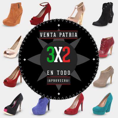 Venta Patria Dafiti: 2x1 y 3x2