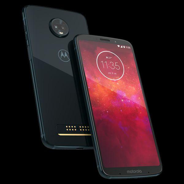 Motorola en línea: Moto Z3 Play versión 6/128