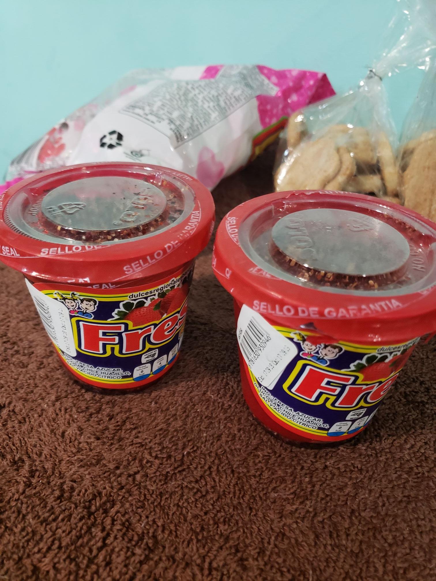 HEB: vaso de fresa con Chile a $9.90