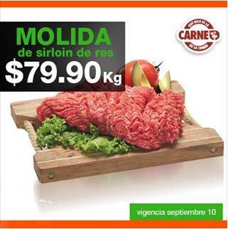 Martes de carnes en La Comer septiembre 10