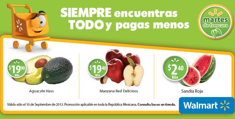 Martes de frescura Walmart septiembre 10: sandía $2.40 y más