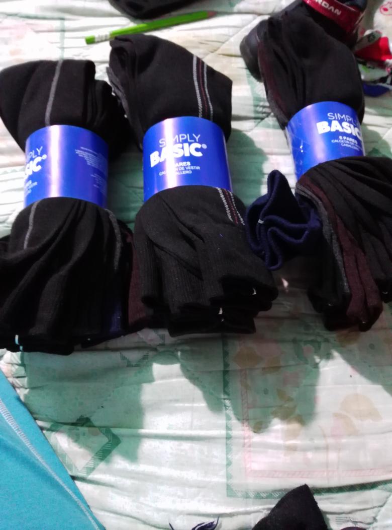 Bodega Aurrerá: 6 pares de calcetines simply basic $10.02