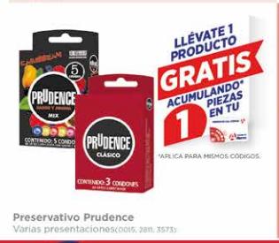 Farmacias del Ahorro: Condones Prudence al 2x1