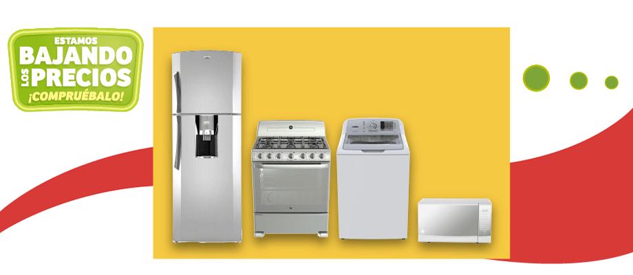 MEGA Soriana: $200 de descuento por cada $1,000 en línea blanca y microondas de marcas seleccionadas
