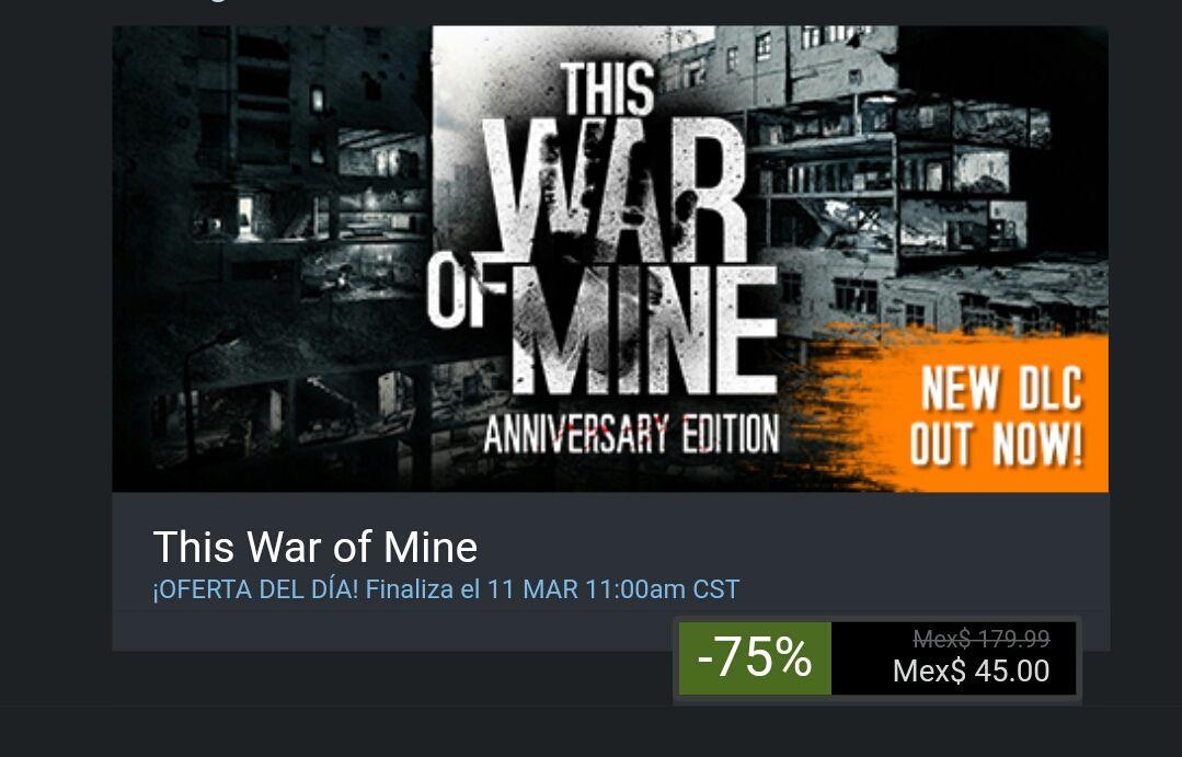 Steam: This war of mine
