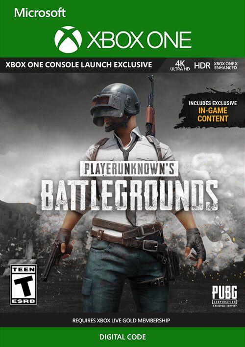 Cd Keys : PlayerUnknown's Battlegrounds (PUBG) Xbox One (precio mas bajo hasta ahora)
