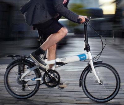 Linio, bicicleta plegable alubike $3,330 con cupón