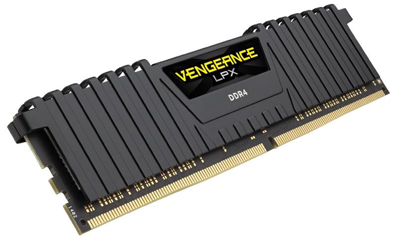 Cyberpuerta: Memoria RAM Corsair Vengeance LPX DDR4, 3000MHz, 8GB, Non-ECC, CL16, XMP