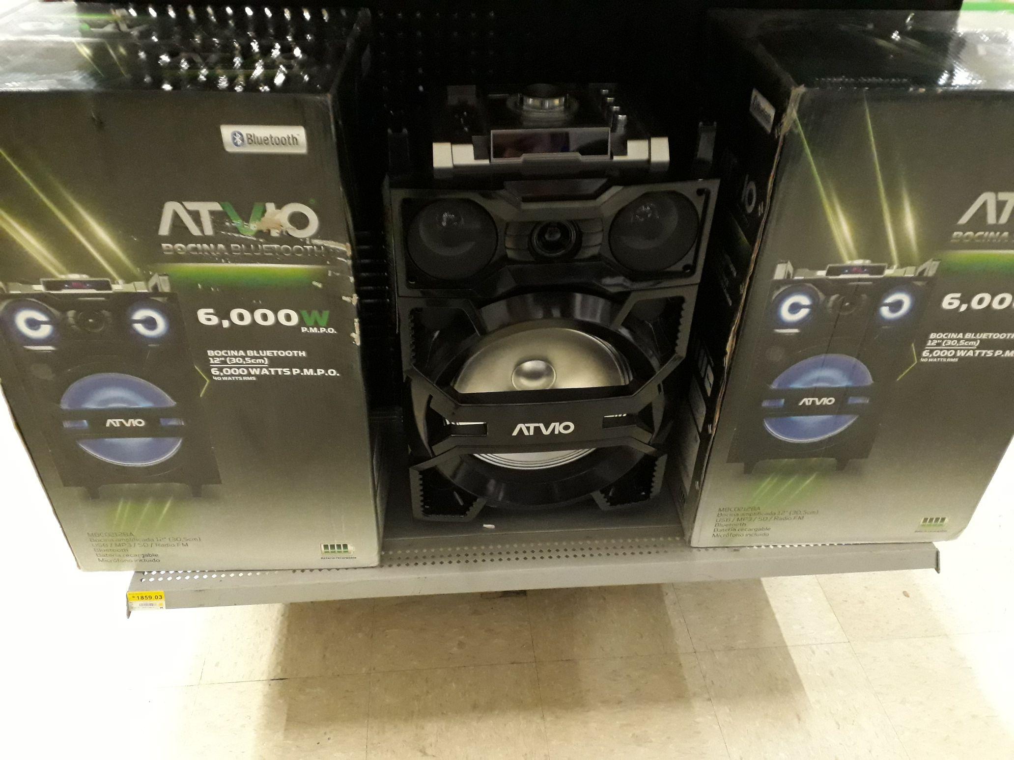 Bodega Aurrera: Bocina ATVIO Bluetooth