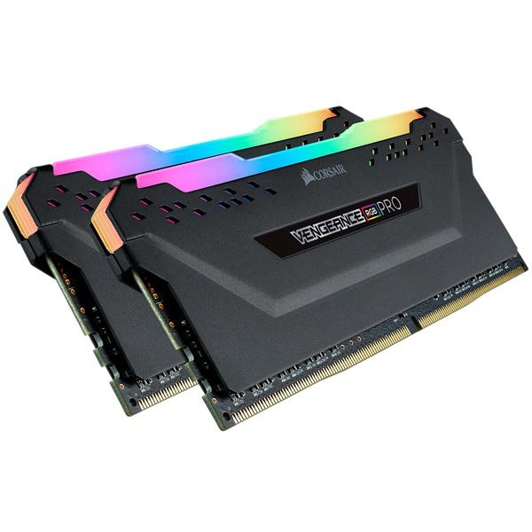 Cyberpuerta: Kit Memoria RAM Corsair Vengeance RGB Pro DDR4, 2666MHz, 16GB (2x8GB)