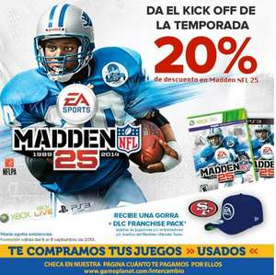 Game Planet: Madden NFL $799 más gorra y DLC de regalo