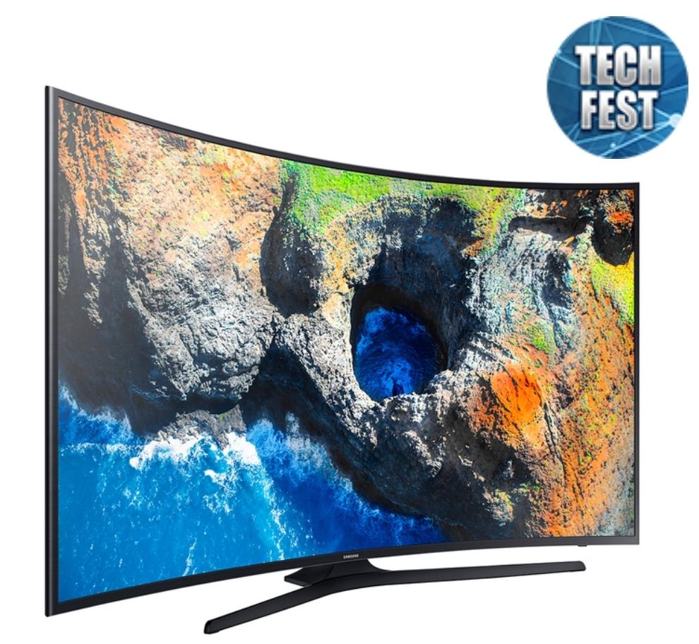 Walmart: TV Samsung 65' Curva 4K Ultra HD Smart TV LED UN65MU6290FXZA Refubrished  (Hasta 9 MSI)