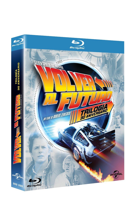 Amazon México: Trilogia Volver al Futuro de 30 aniversario en Blu Ray o DVD