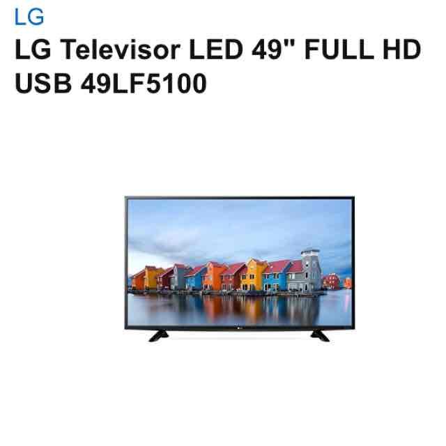"""Amazon Oferta Relámpago El Buen Fin : Televisor LG full HD de 49"""" 49LF5100 $7,899 (6,583)"""