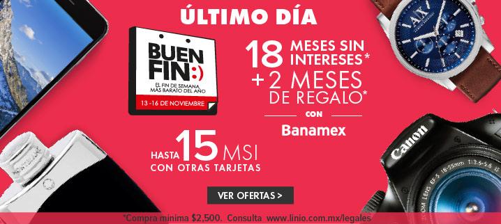 "Linio - Buen Fin: Cupón de 200 para próxima compra ""FIN-200"""