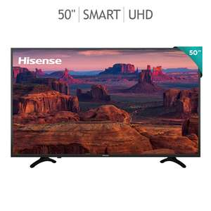 "Costco: Pantalla Hisense 50"" 4K HDR Smart TV 50H8E"