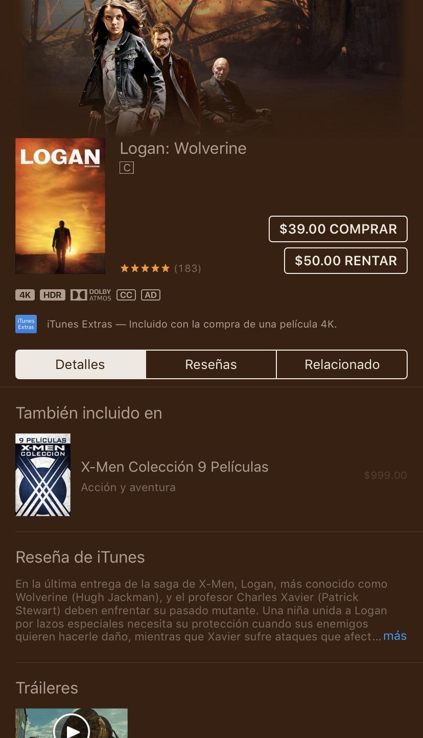 iTunes: Logan: Wolverine