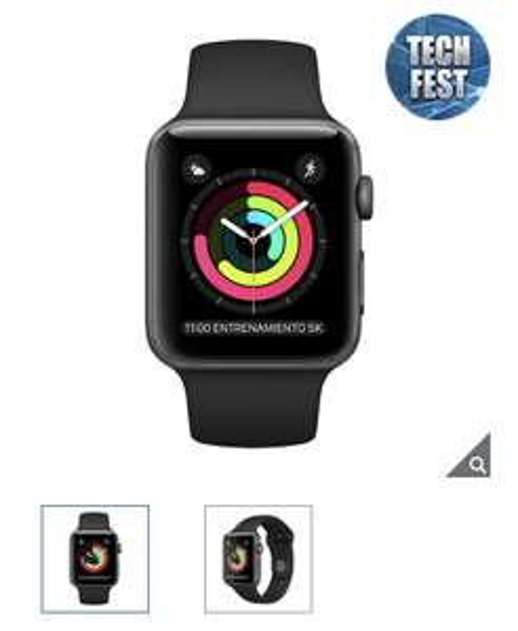 Costco: Apple Watch s3 42 mm color gris