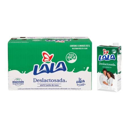 Sam's Club: Leche Lala Deslactosada 12 pzas de 1 lt. $ 15.50 x Litro, comprando dos cajas.