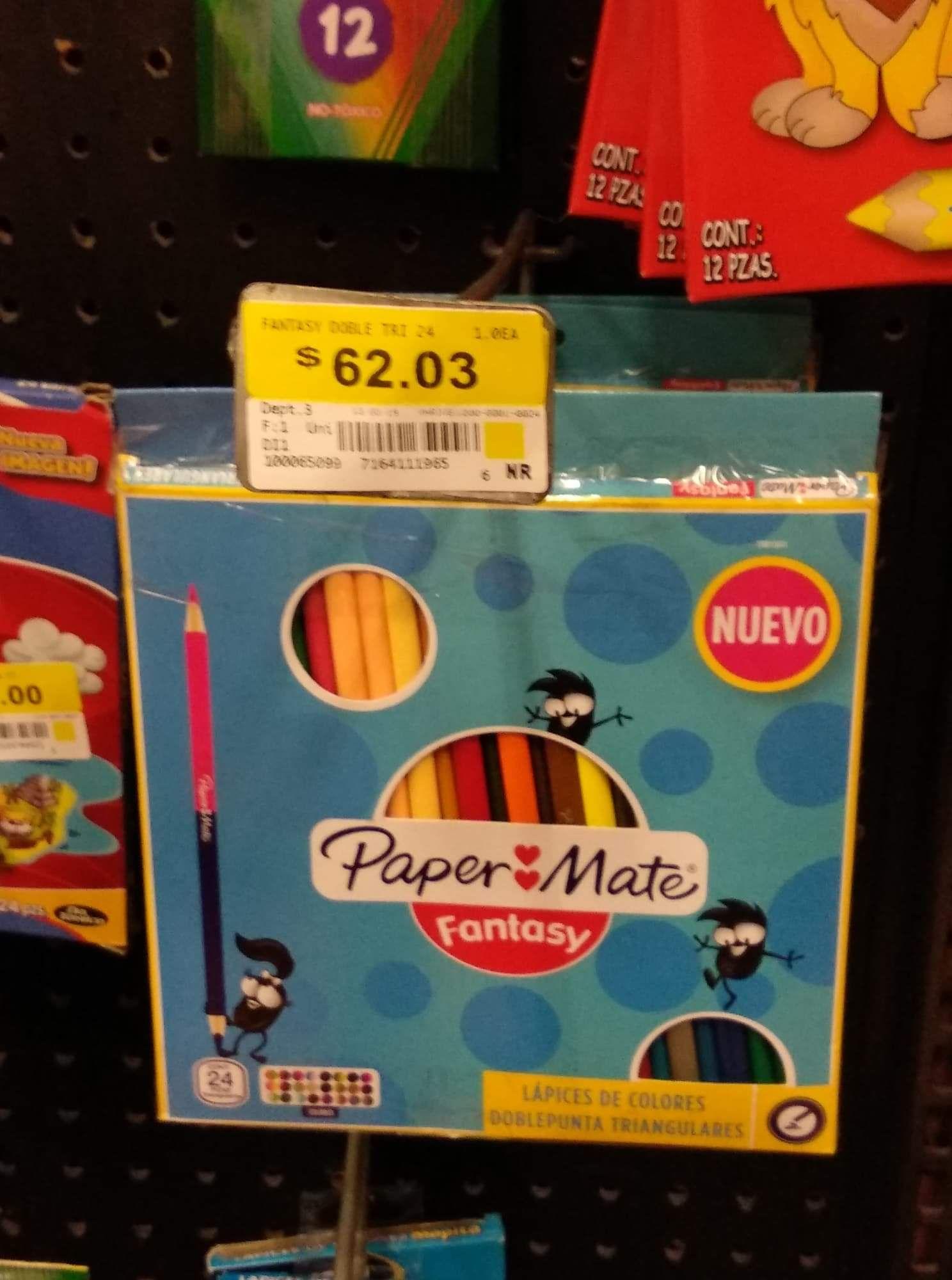 Walmart: colores Paper mate en oferta