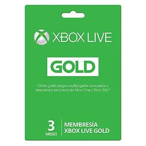 Amazon: 6 meses de Xbox Live Gold