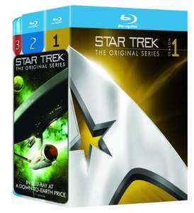 Amazon Mx: Star Trek: Original Series - Three Season Pack [Blu-ray] [Importado]