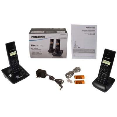 Elektra Online Telefonos Panasonic KX-TG1712MEB (Precio con Banamex 635)