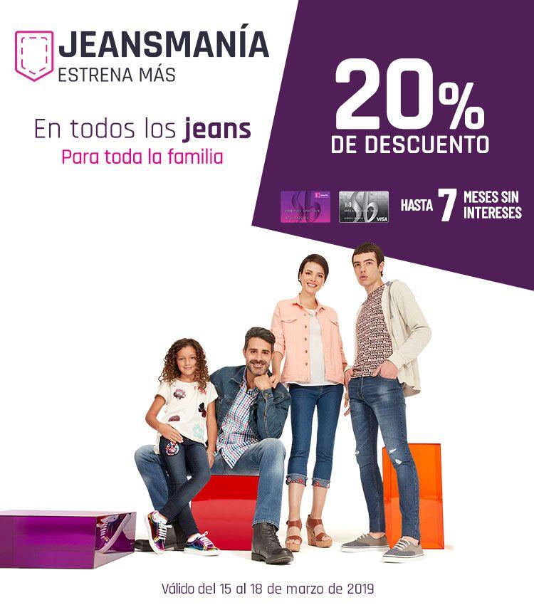Suburbia  20% de descuento en todos los jeans para toda la familia + hasta d522dc6d3ad5b