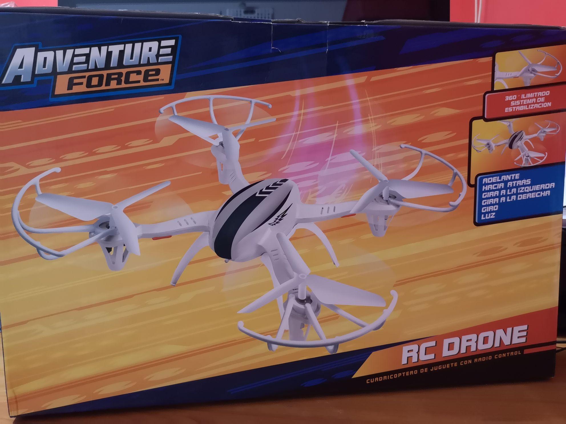 Bodega Aurrerá: Drone Rc Adventure Force.