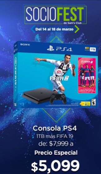 Sam's Club: Playstation 4 1TB Fifa 19