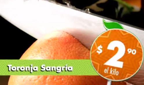 Miércoles de plaza La Comer septiembre 4: toronja $2.90 y más