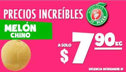 Miércoles de Plaza en La Comer noviembre 18: melón $7.90 y más
