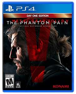 Amazon: Metal Gear Solid V: The Phantom Pain, Day 1 Edition para PS4 a $719