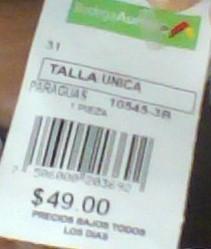 Bodega Aurrerá Melchor Ocampo: Paraguas a $10.01