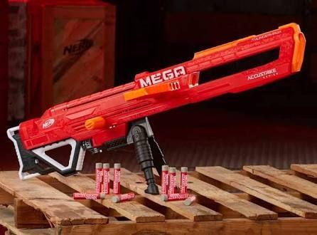 Sam's Club: Lanzador Nerf Thunderhawk N-Strike Mega Serie con 10 Dardos De 999 a 199