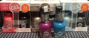 Walmart Triana: Esmaltes Sally Hansen Miracle Gel $30.02