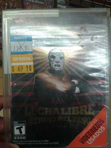 Blockbuster (The B Store): Lucha Libre PS3 $69.90