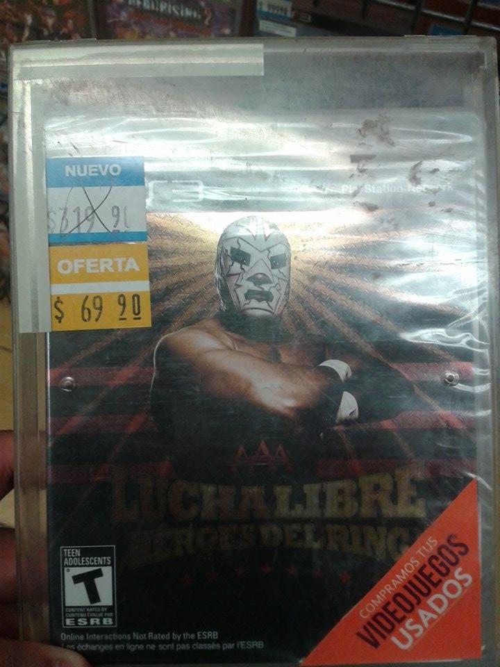 Blockbuster (The B Store): Lucha Libre PS3 $69.90