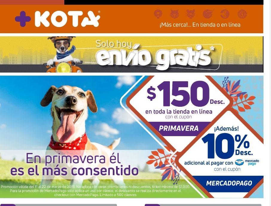Maskota: Cupón $150 + 10% MercadoPago + Envío gratis